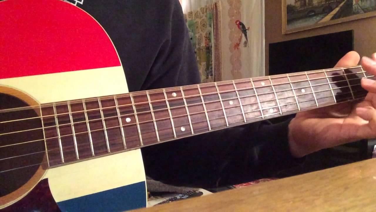 1970 Harmony Buck Owens American Acoustic Guitar Ryan Adams Demo