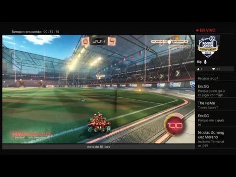 rocket league con endersaul8 canal en la descripcion