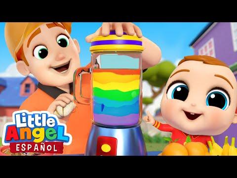 Bebé Juan Aprende Los Colores🍋🍓🍊| Canciones Infantiles | Little Angel Español