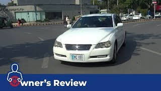 Toyota Mark X 2005 Owner's Review: Price, Specs & Features | PakWheels