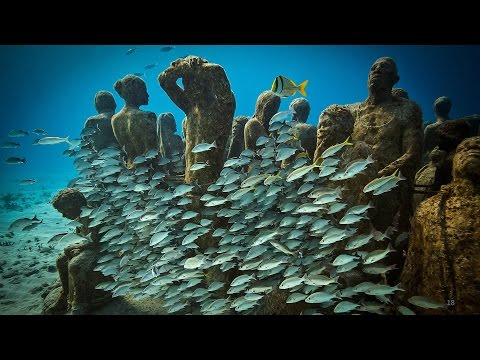 An underwater art museum, teeming with life | Jason deCaires Taylor