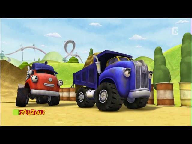 💗Jack et les camions - Le circuit d'obstacle de Camionville💗