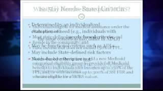 Medicaid and HCBS Basics (Alzheimer's - 10/27/14)
