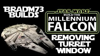 Build the Millennium Falcon - Issue 2+ - How to remove the Dual Laser Turret Window!
