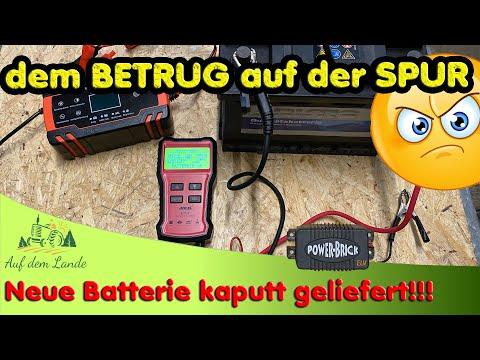 Defekte Starterbatterie desulfatieren