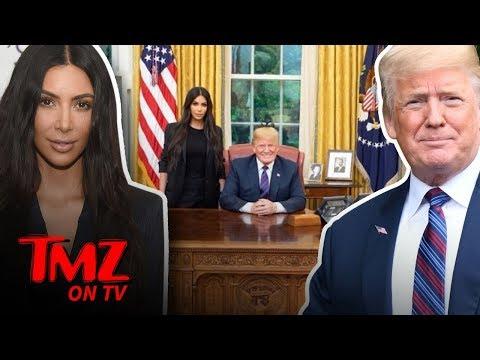 Kim K Takes Her Talents To The White House! | TMZ TV