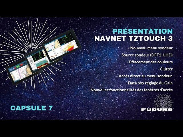 Écran Multifonction NavNet TZtouch 3 | Options Sondeur et Gestion des Fenêtres d'Accès
