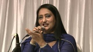 Mere Dil de Sheeshe Wich Sajna singer Rehana Kanwal