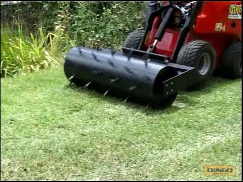 Dingo Australia Lawn Aerator - YouTube