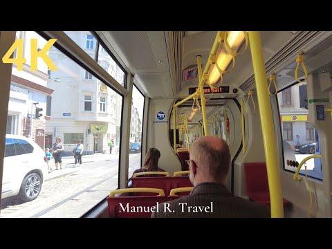 Vienna Tram Ride, Line 41 from Pötzleinsdorf to Michelbeuern, Public Transport ASMR
