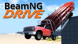 Gambar cover BeamNG.Drive #4 | CRUSHED TO BITS!!