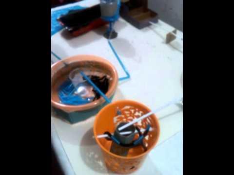 Maqueta planta de tratamiento de aguas residuales youtube - Tratamiento de agua ...