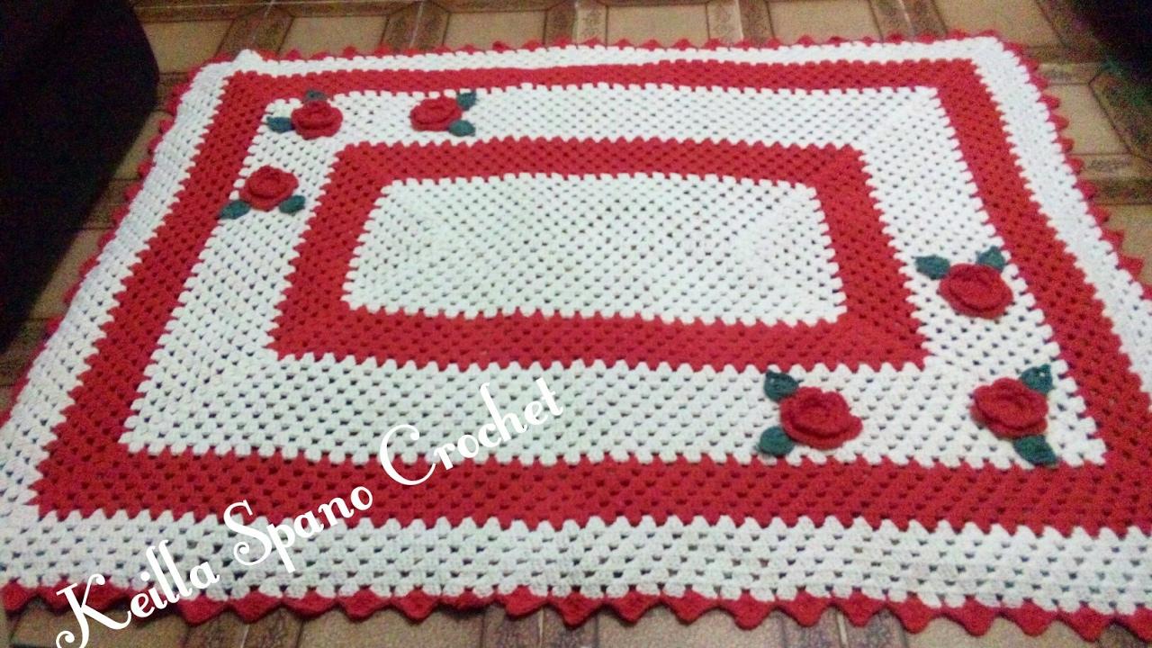 Tapete De Croche Quadrado Para Quarto Nchome Info -> Tapetes De Croche Para Sala