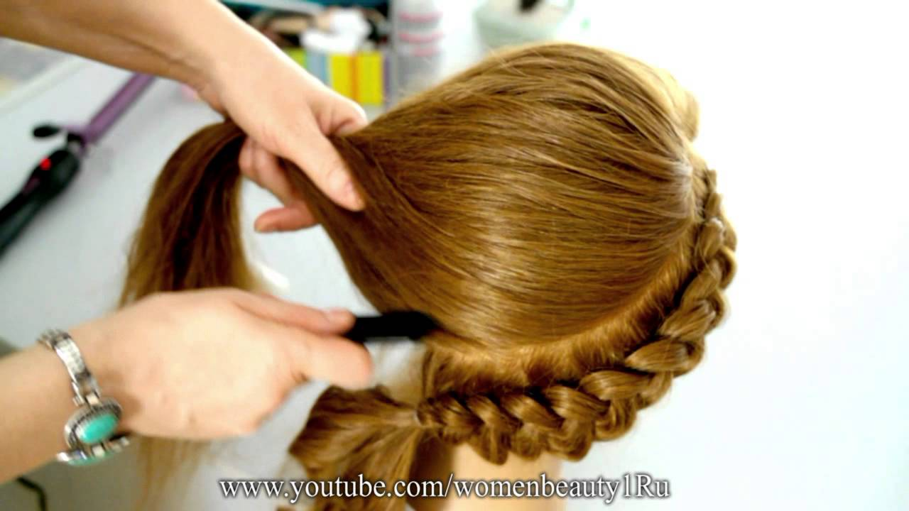 Причёска Обратная коса рекомендации