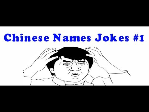Chinese Names Jokes #1 Animated - Pinoy Q And A Jokes