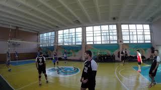 9 тур. Первая лига. Вулкан - Ветераны волейбола, 0:3 (25:27, 20:25, 17:25)