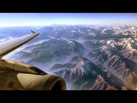 Lufthansa Full Flight LH301 Turin to Frankfurt. 4K Resolution. Airbus A319. D-AILH