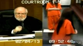 Woman gives judge the finger, gets jail time