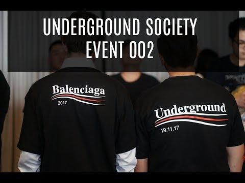 THE UNDERGROUND SOCIETY EVENT 002 + PICK UPS | VerdugoVibes