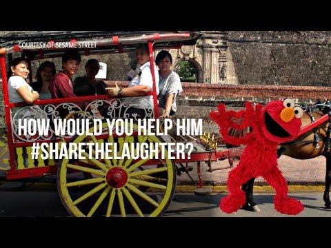 Elmo visits Manila