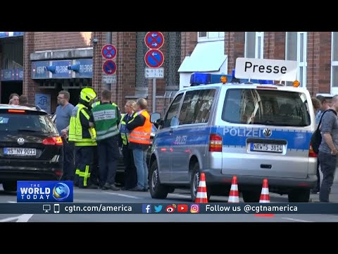 Germany seeks motive after van crashes into crowd in Muenster