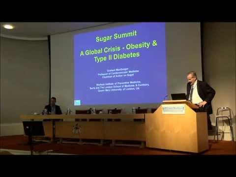 The Sugar Reduction Summit - Professor Graham MacGregor on Obesity & Diabetes