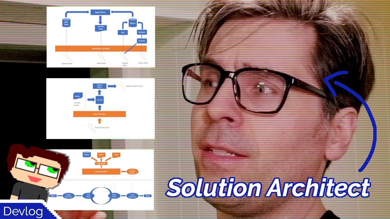 Thumbnail images for Professional Solution Architecture from an Amateur Game Developer | Out the Door Devlog video