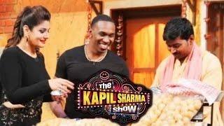 the kapil sharma show   18th may 2016   dj bravo raveena tandon had a fun time on the show