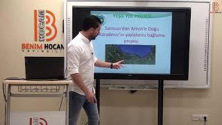 19)KPSS Coğrafya - Genel Tekrar - Bölgesel Kalkınma Projeleri ve Turizm - Bayram MERAL (2020)