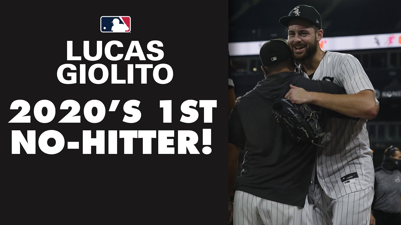 NO-HITTER! Lucas Giolito completes MLB's first no-no of 2020! (Final at-bat to seal it!)