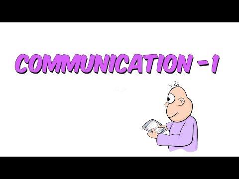 Communication 1 | 8.1 Kampı