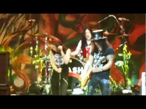 Slash - Anastasia & Sweet child o mine - Hellfest 2012
