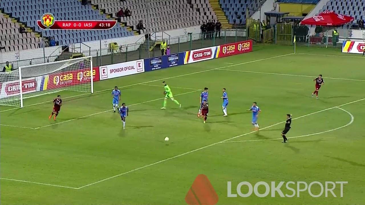 Rezumat: Rapid - Poli Iasi 0-1 Cupa Romaniei 16mi 2019-2020