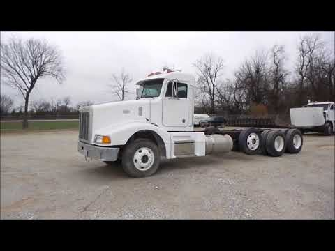 1998 Peterbilt 377 cab and chassis for sale | no-reserve Internet auction January 18, 2018