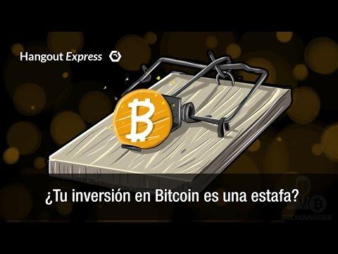 ¿Mi Inversión En Bitcoins Es Una Estafa?