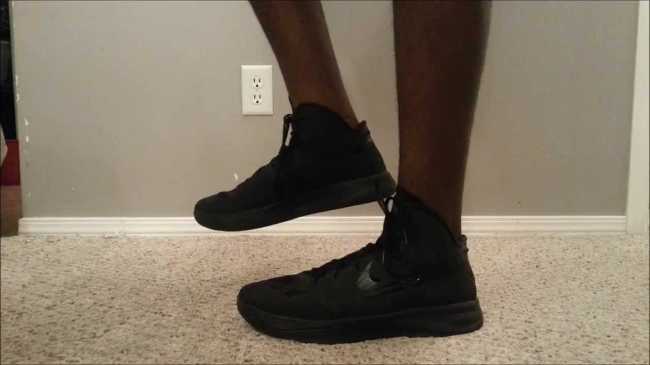 hyperdunk 2012 all black