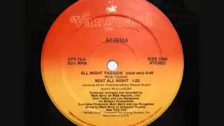 All Night Passion - Alisha 1984 (LP Version)