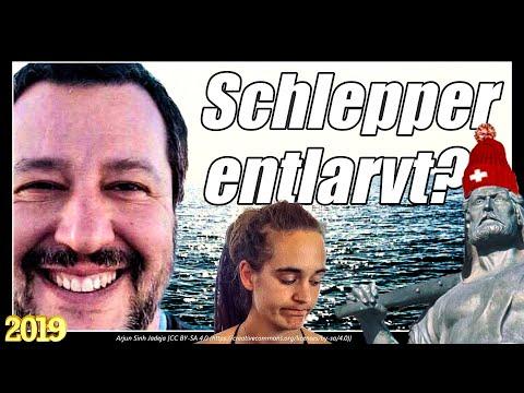 Salvini deckt Schlepperaktion auf   Sea Watch   Sea Eye Alan Kurdi   Rackete