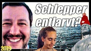 Salvini entlarvt Schlepperaktion | Sea Watch | Sea Eye | Carola Rackete
