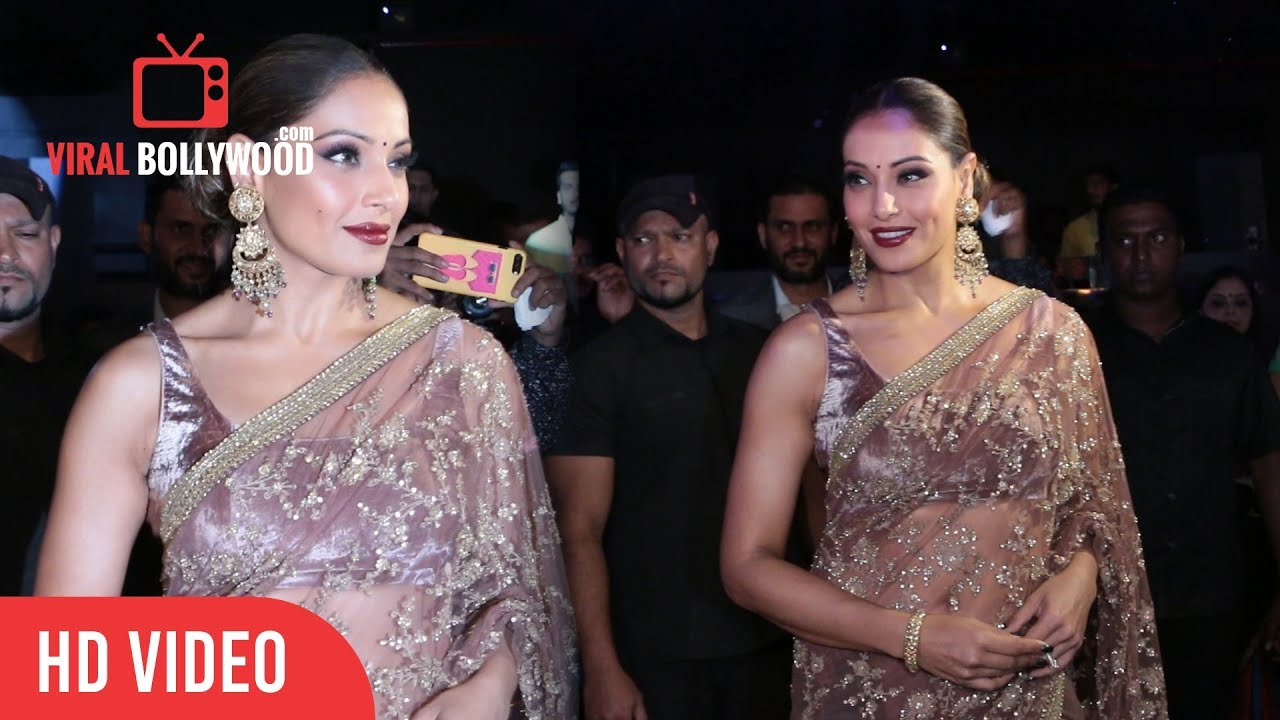 Gorgeous Bipasha Basu In Traditional Saree At Launch Of The Great Indian Wedding Book