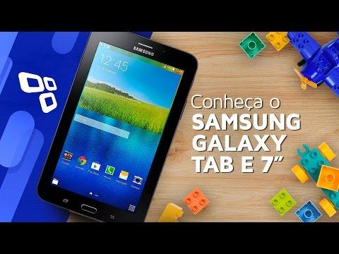 "Conheça o Samsung Galaxy Tab E 7"" Wi-Fi - TecMundo"