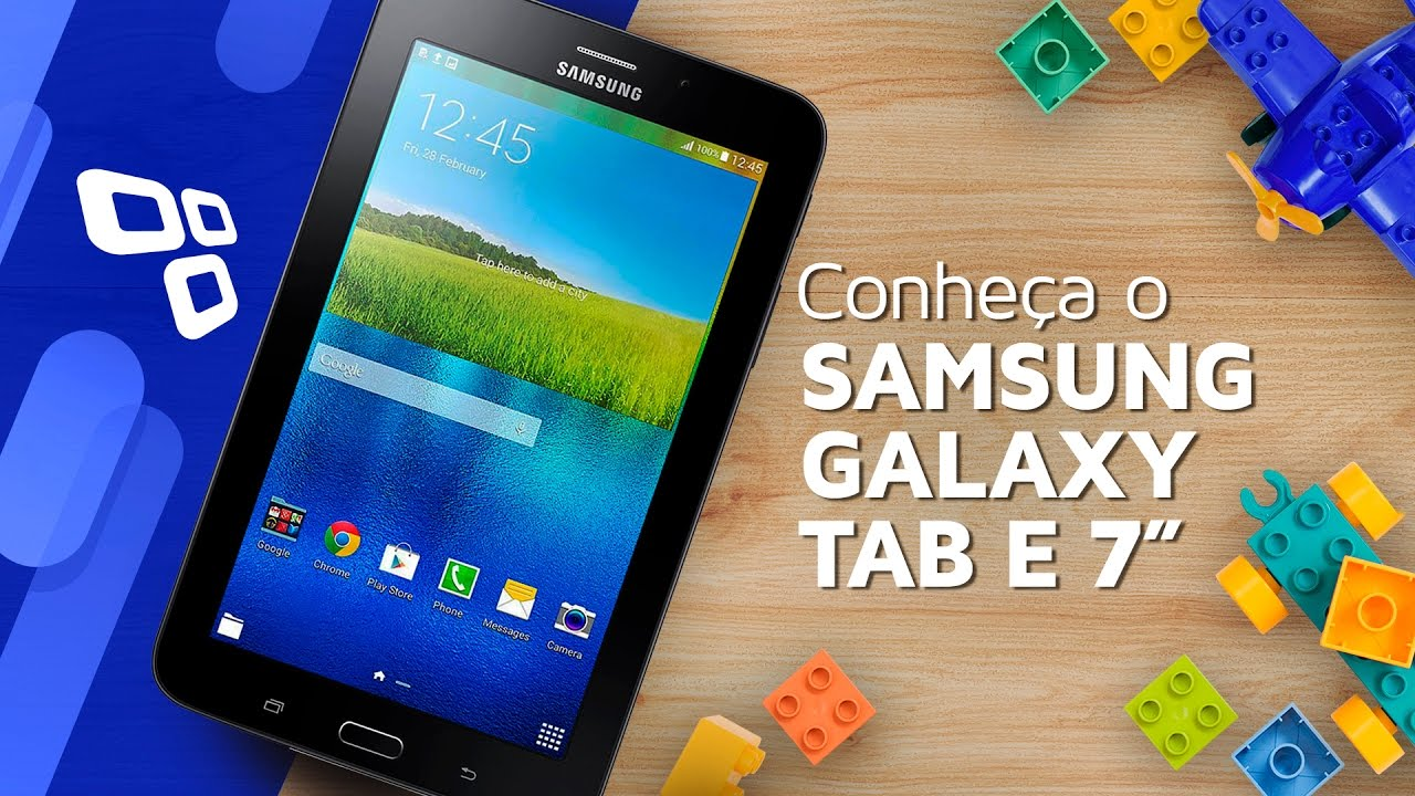 "cb2d4176006 Conheça o Samsung Galaxy Tab E 7"" Wi-Fi - TecMundo - YouTube"