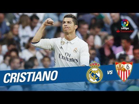 Golazo de Cristiano Ronaldo (3-1) Real Madrid vs Sevilla FC
