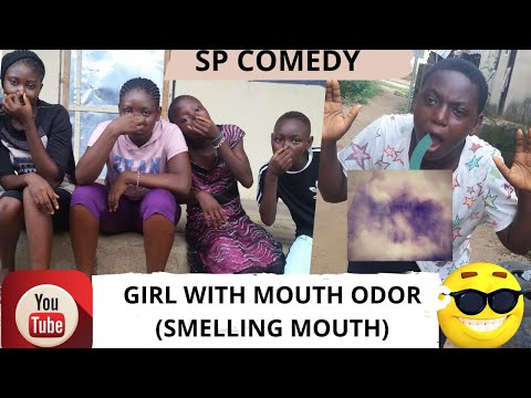 GIRL WITH MOUTH ODOR (Smelling Mouth) Funny Comedy (SP COMEDY)