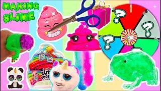 SQUISHY GLÜCKSRAD CHALLENGE   Anti-Stress Spielzeug zerschneiden I Cutting squishy toys I PatDIY