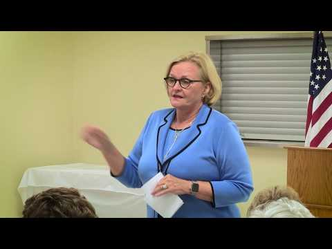 Health Care - Claire McCaskill Town Hall Video by Jerry Schmidt