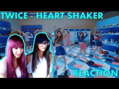 REACTION - TWICE 'Heart Shaker' MV