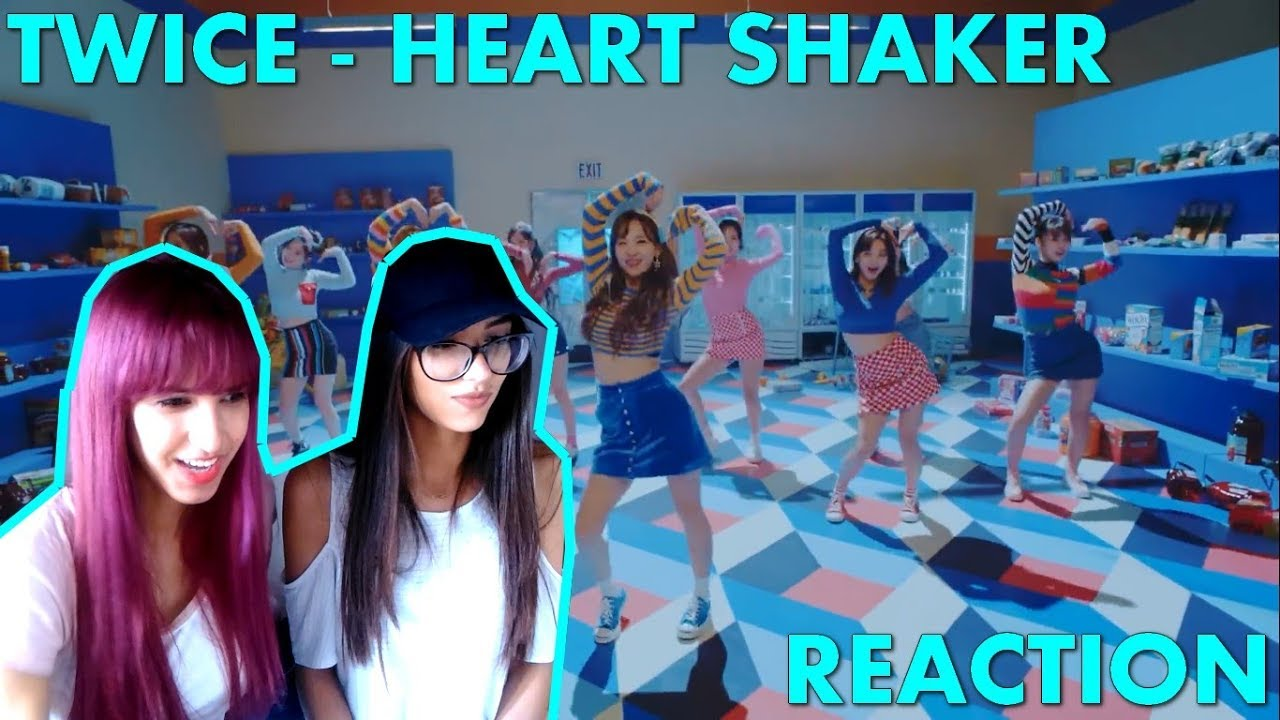 REACTION - TWICE  Heart Shaker  MV - YouTube acf67054f