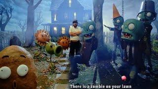 Real Life Plants VS Zombies PVZ Music Video MV Soundtrack and Making of PVZ MV thumbnail