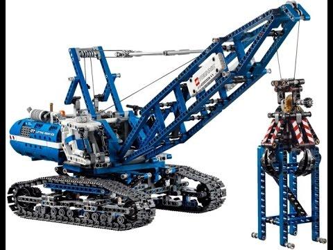 Lego Technic 42042 Crawler Crane Instructions Youtube